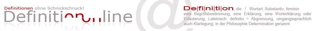 Definition online header image